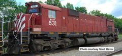 Bowser Ho Scale M630 WNY&P EX CP Rail W/ Ditchlights DCC Ready *Pre-order*