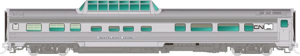 Rapido Ho Scale Budd Mid Train Dome Cars Canadian National