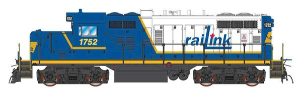 Intermountain GP10 Railink #1752 DCC & NON-Sound W/Ditchlights