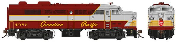 Rapido Ho Scale FA-2 Canadian Pacific (Script Lettering) DCC Ready