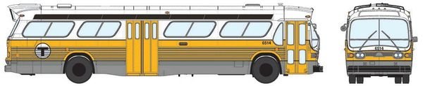Ho Scale Rapido Boston MBTA GMC Bus Standard Edition *Pre-Order*