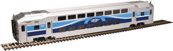 Atlas Ho Scale Agence métropolitaine de transport Multi-Level Trailer