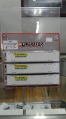 Scaletrains Operator Ho Scale 53' Reefer Container 3-Pack J.P. Hunt