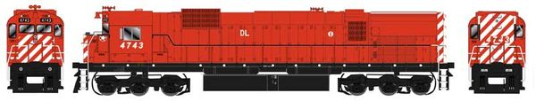 Bowser HO Scale Delaware-Lackawanna Ex CP M636 DCC W/Loksound & Ditchlights
