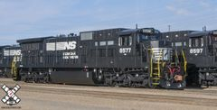 Scaletrains Rivet Counter Ho Scale Norfolk Southern C39-8 DCC & Sound