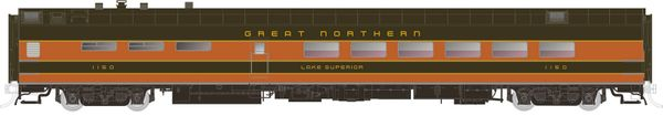 Rapido Ho Scale Pullman Standard Great Northern (Lake Series) Dining Car *Pre-order*