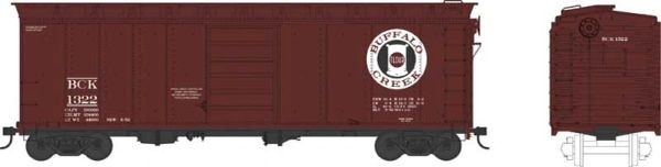 Bowser Ho Scale Buffalo Creek 40ft Boxcar *Pre-order*