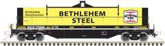 Atlas Ho Scale 42' Coil Steel Cars Bethlehem Steel