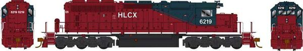 Bowser Ho Scale SD40-2 (3rd Release) HLCX (Ex QNSL) DCC & Sound *Pre-order*