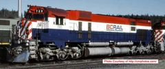 Bowser Ho Scale M630 BC Rail Non Hockey Stick Paint Scheme Recessed Nose Ditchlights W/External Air Filters DCC Ready *Pre-order*