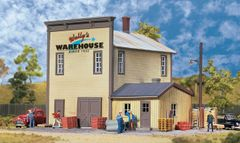 Walthers Cornerstone HO Scale Wally's Warehouse - Main Building