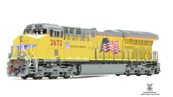 Scaletrains Rivet Counter Ho Scale C45AH Tier 4 GEVO Union Pacific (3rd Release) DCC & Sound *Pre-order*