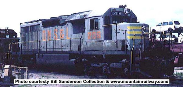 Bowser Ho Scale SD40 QNSLl W/Snow Shields DCC Ready *Pre-order*