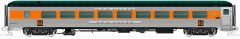 Rapido Ho Scale 26-Seat Parlor/14-Seat Lounge – New Haven McGinnis (no skirts)