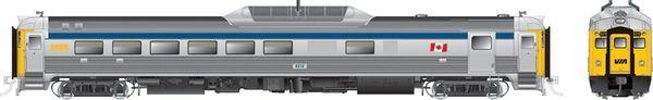 Rapido Ho Scale RDC-2 Phase 2 VIA Rail Canada (Blue Stripe) DCC W/Sound