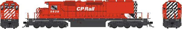 "Bowser Ho Scale SD40-2 (3rd Release) CP Rail Small Multimark W/ ""Elephant Ears"" DCC & Sound *Pre-order*"