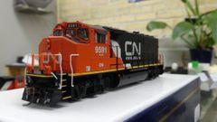 Athearn Genesis Ho Scale CN GP 40-2L DCC Ready