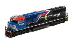 "Athearn Genesis Ho Scale SD60E Norfolk Southern ""Honoring Our Veterans"" #6920 DCC Ready *Pre-order*"