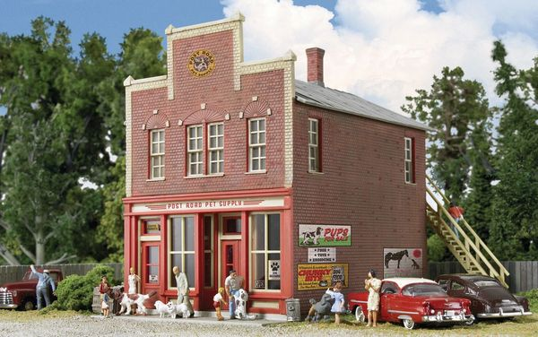 Walthers Cornerstone HO Scale Post Road Pet Supply