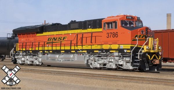 Scaletrains Rivet Counter Ho Scale (2nd Release) ET44C4 BNSF DCC Ready