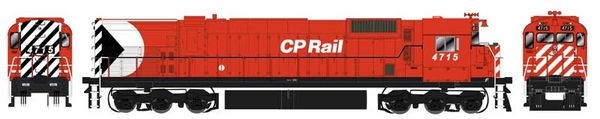 "Bowser HO Scale CP Rail M636 8"" Stripe W/ Water Tank DCC Ready (Air Start)"