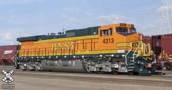 scaletrains ho scale ge c44-9w bnsf dcc & sound *reservation* | railway  city hobbies