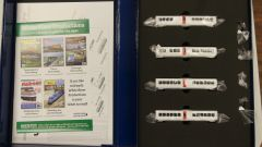 Rapido N Scale TurboTrain Canadian National 4 Car Add-on Set DC/DCC