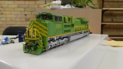Athearn Genesis Ho Scale SD70ACe Illinois Terminal #1072 DCC & Sound