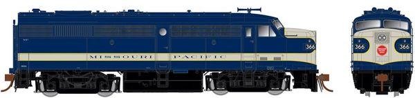 Rapido Ho Scale FPA-2 Missouri Pacific (Delivery) DCC & Sound *Pre-order*