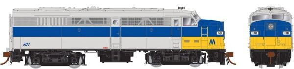 Rapido Ho Scale FA-2 Long Island Rail Road (grey/blue/yellow 'M') DCC Ready *Pre-order*
