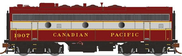 Rapido Ho Scale F7B/F9B Canadian Pacific (Block Lettering) DCC Ready *Pre-order*
