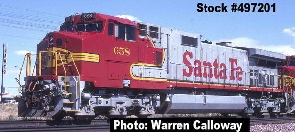 Intermountain Railway Ho Scale C44-9W (Dash 9) Santa Fe DCC W/Sound *Pre-Order