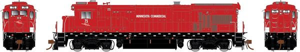 Rapido Ho Scale B36-7 Minnesota Commercial Railway W/Ditchlights DCC & Sound *Pre-order*