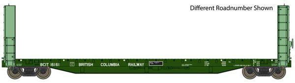 Walthers Proto C.C.& F. 50' Bulkhead Flatcar British Columbia Railway *Pre-order*