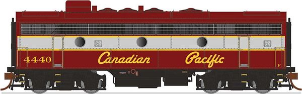 Rapido Ho Scale F7B/F9B Canadian Pacific (Script Lettering) DCC & Sound *Pre-order*