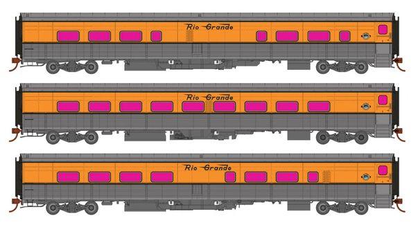 Rapido Ho Scale Rio Grande Ski Train Tempo Car Sets *Reservation*