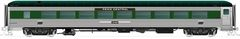 Rapido Ho Scale 72-Seat Coach – Penn Central Green (no skirts) *Pre-order*