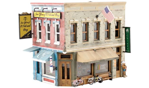 Woodland Scenics Main Street Mercantile Building Kit