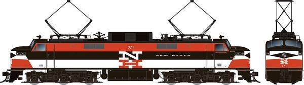 Rapido HO Scale EP-5 Electric New Haven Repaint (W/ Vents) DCC & Sound *Pre-order*