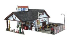 Woodland Scenics HO Scale Built & Ready Ethyl's Gas & Service