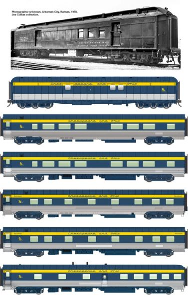 Walthers Proto Ho Scale George Washington Deluxe 7 Car Set *Pre-Order*