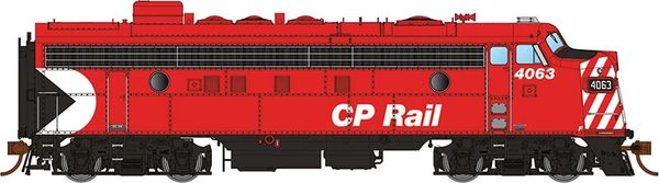 "Rapido Ho Scale FP7 CP Rail 8"" Stripe DCC Ready"