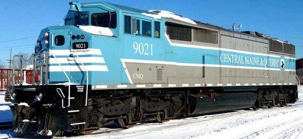 Bowser Ho Scale SD40-2F Central Maine & Quebec Square Port Hole W/Ditchlights DCC & Sound *Pre-order*