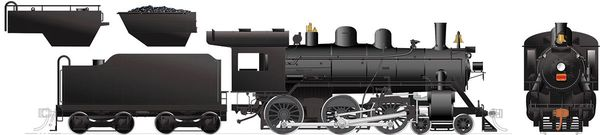 Rapido Ho Scale H-6-d/g Canadian National Painted, Unlettered (4-6-0) DCC Ready *Reservation*