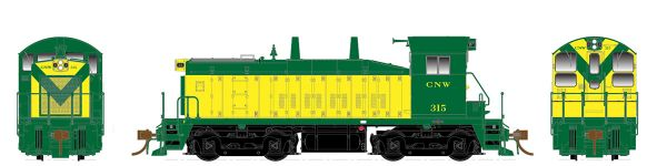 Rapido Ho Scale SW1200 Chicago & Northwestern DCC & Sound *Pre-order*