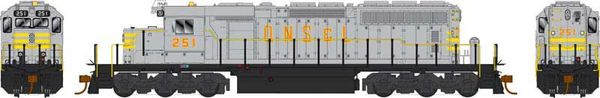 Bowser Ho Scale SD40-2 (3rd Release) QNSL DCC & Sound *Pre-order*