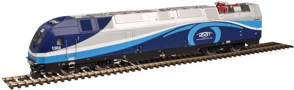 Atlas Ho Scale Agence métropolitaine de transport Multi-Level Commuter Train Set