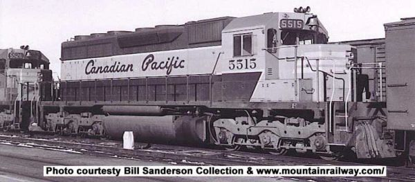 Bowser Ho Scale SD40 Canadian Pacific Script (Large Rear Number's), Round Sand Filler DCC Ready *Pre-order*