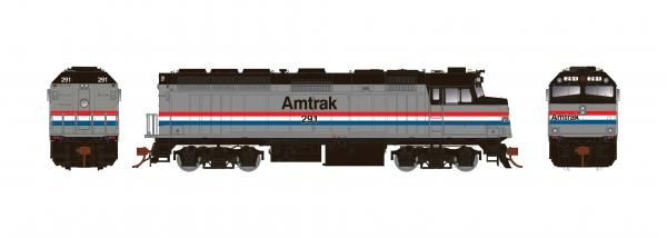 Rapido Ho Scale Amtrak F40PH Phase III W/Ditchlights DCC & Sound *Reservation*
