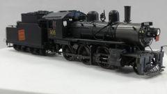 Van Hobbies E-10 2-6-0 Canadian National #906 Brass Locomotive DCC & Sound